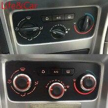Ac calefator botão de controle do clima botões interruptor do painel para peugeot 307 citroen C-TRIOMPHE c4
