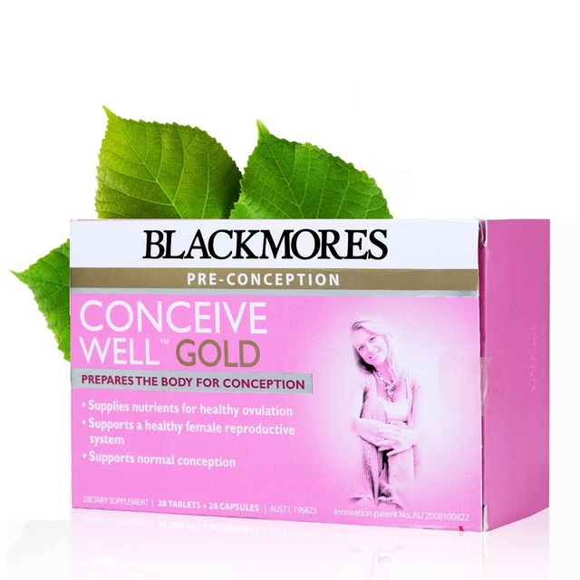 Blackmores Conceive Well Gold 56Caps