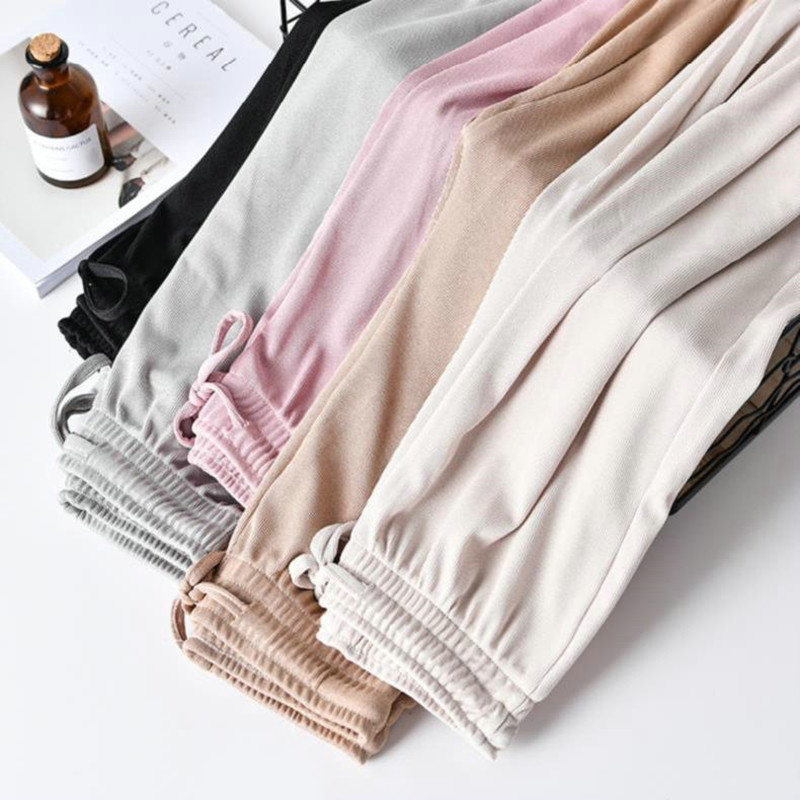 Large Size Wide Leg Pants Female Summer Fashion Casual Holiday Women's High Waist Korean Loose Straight Trousers