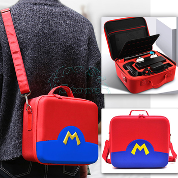 Nitendo Switch Deluxe EVA Travel Bag Nintend NS Big Capacity Shoulder Case Protective Cover for Nintendoswitch Games Accessories 1