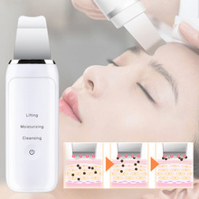 Ultrasonic Face Deep Cleaning Machine Skin Scrubber Dirt Spots Blackhead Removal Anti Wrinkles Facial Whitening Peeling Tools