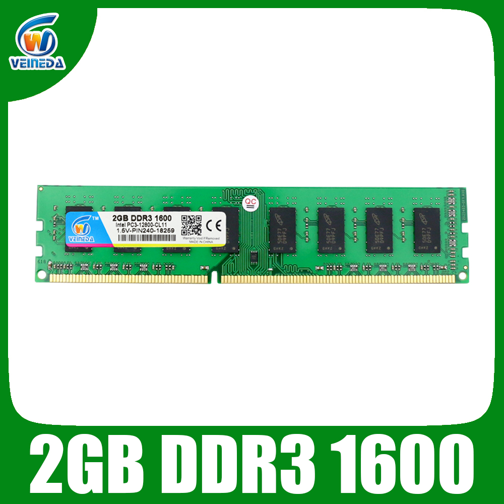 VEINEDA <font><b>ram</b></font> <font><b>ddr3</b></font> 2gb Memoria <font><b>ddr3</b></font> <font><b>1333</b></font> For Intel AMD Desktop <font><b>PC3</b></font>-<font><b>10600</b></font> image