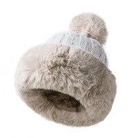 Winter Women princess hat skullies Beanies hat winter winter knitted women hat gorros mujer invierno warm cap