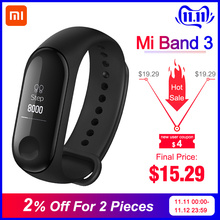 Xiaomi Fitness Tracker Monitor Oled-Display Mi-Band Android Heart-Rate Bluetooth 3