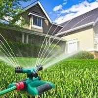 1pc 360 Graus de Rotação Por Aspersão De Água Jardim Grama Gramado Rega Por Aspersão Jardim Gramado Irrigação Ferramenta