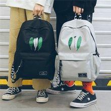 Leaves Landscape Print Backpack Women font b Men b font Causal Daypack Teenager Children School font