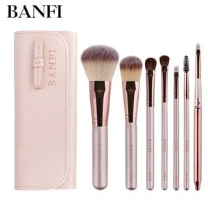 7PCs/set Makeup Brushes Set Cosmetics For Face Women Beauty Eye Shadow Foundation Blush Eyeshadow Concealer Make Up Brush Tools