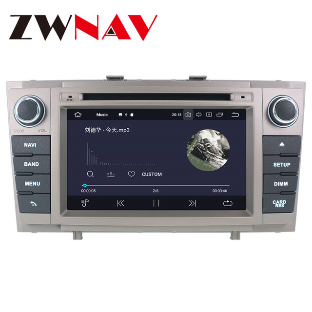 Android 10 PX6 4+64G With DSP Carplay IPS Screen For Toyota Avensis T27 2009-2015 BIG SCREEN Automatic AC Radio Stereo GPS Navi