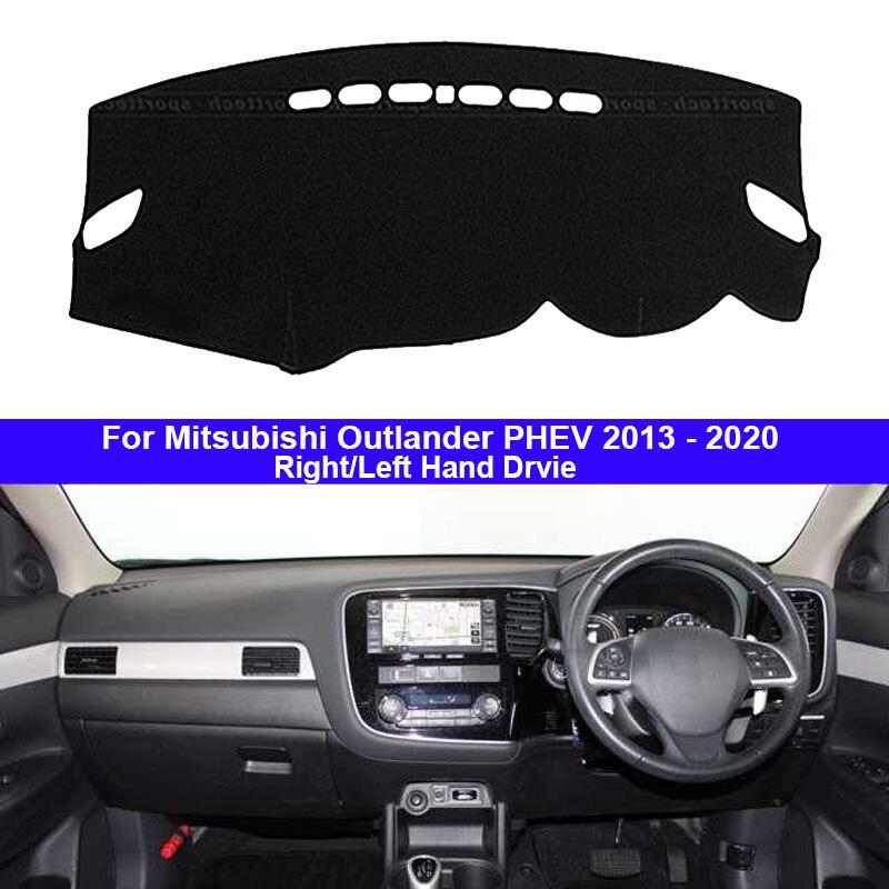 Car Dashboard Cover Dash Mat Carpet Cape For Mitsubishi Outlander PHEV 2013   2015 2016 2017 2018
