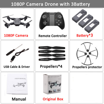 Visuo XS816 RC Drone with 50 Times Zoom WiFi FPV 4K Dual Camera Optical Flow Quadcopter Foldable Selfie Dron VS SG106 M70 12