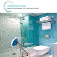 Handheld electric cleaning brush kitchen washing glass cleaner rotating scrubber tool bathroom furniture suppliesMU