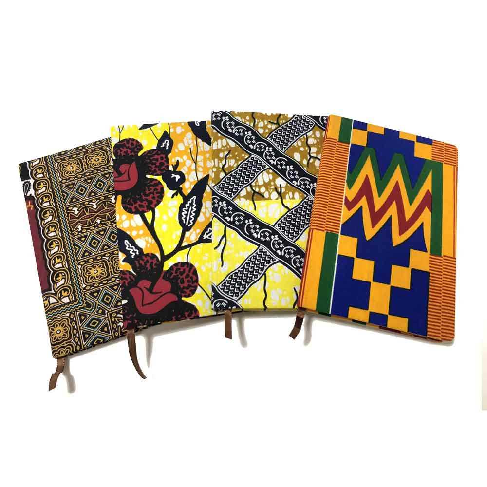 Cute Creative Japanese Ankara Notebook Planner Agenda Diary Hard Cover Yearly Monthly Planning Papers Journal Notebook Daily Mem