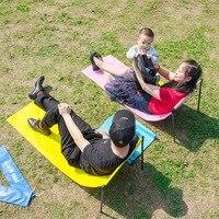 Ultraleve viagem dobrável cadeira piquenique cobertor portátil ao ar livre cadeira de acampamento praia caminhadas piquenique assento pesca ferramentas cadeira