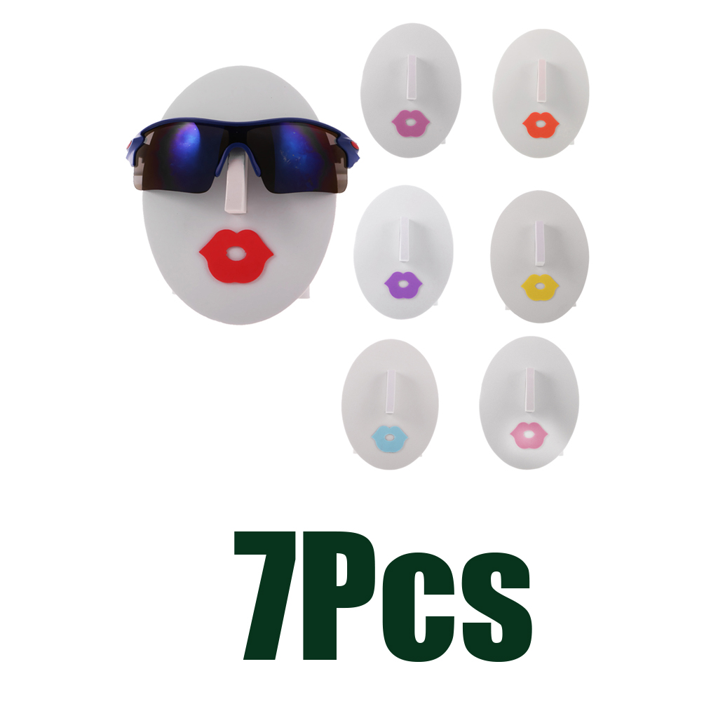 Female Face Glasses Sunglasses Spectacle Display Stand Holder 7-piece