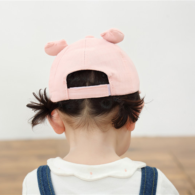 He59cff3ebf71495b987aaf25efc538b7P - Baby Hat Cute Bear Embroidered Kids Girl Boy Caps Cotton Adjustable Newborn Baseball Cap Infant Toddler Beach Outdoor Sun Hat