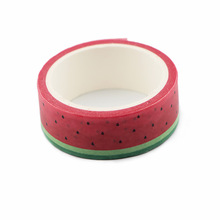 2pcs/lot Fruit Watermelon Washi Tape Paper Album Notebook Adhesive Color Tear Decoration Stationery Stickers AT2955
