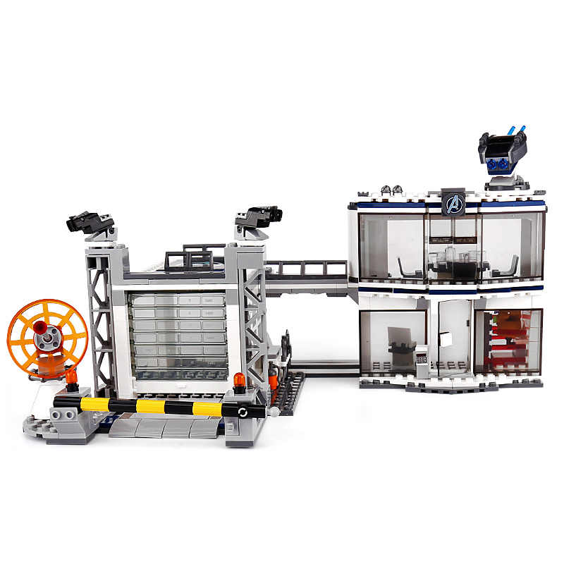 76131 New Avengers Compatible legoingly Marvel 4 Endgame Compound Battle Set Model Building Block Bricks Boy Toys Christmas