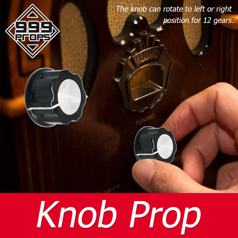 999 PROPS Knob Prop real life escape room turn the knob in left and right gears for certain times to open adventure game prop