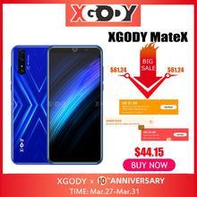"XGODY Mate X 6 18:9 Smartphone Dual SIM Android 9.0 Cell Phones 2GB 16GB MTK6580 Quad Core 2800mAh 5MP GPS WiFi 3G Mobile Phone"""