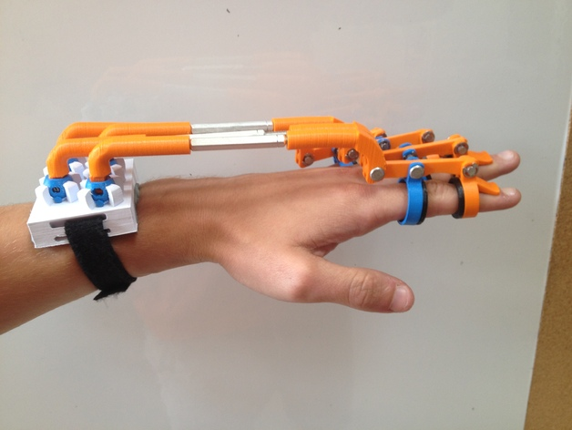 Hand Exoskeleton Custom Order Highqualityhighprecision Digital Models 3D Printing Service Mechanical Parts ST4044