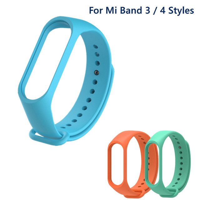 Bracelet for Xiaomi Mi Band 6 5 4 3 Sport Strap watch Silicone wrist strap For xiaomi mi band 3 4 5 bracelet Miband 4 3 5 Strap 3
