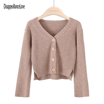 цена на 2020 Top quality Womens green Sweater long sleeve Female Winter Cardigan with sashes chic Streetwear Womens Knit Top Sweater