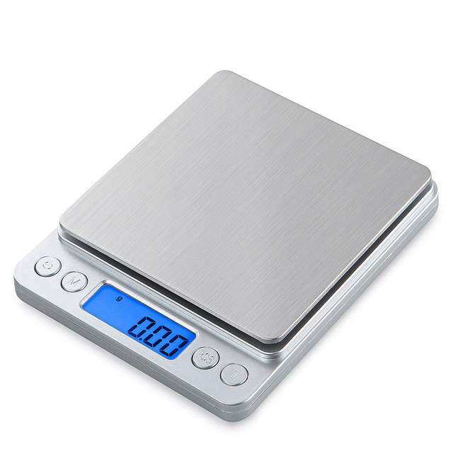 2020 Portable Electronic Food Scales 3000g/0.1g Postal Kitchen Jewelry Weight Balance Digital Scale 500g 0.01 Precision Scale