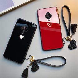 На Алиэкспресс купить стекло для смартфона for vivo s1 pro iqoo neo z3i z1 case free strap red black heart hard glass cover for vivo nex s u1 u3x z5x iqoo pro casing