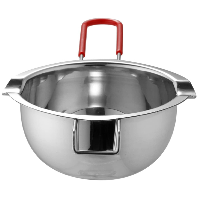 Stainless steel universal anti scald handle hot pot melted butter