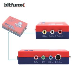 Image 2 - Bitfunx RetroScaler2x A/V כדי HDMI ממיר וקו מכפיל עבור רטרו משחק קונסולות PS2/N64/NES/SEGA Dreamcast/שבתאי/MD1/MD2