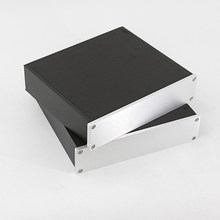 D2205 DIY full Aluminum dac Enclosure PSU box headphone Case Power Amplifier Chassis(China)