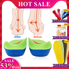 EVA 3D Orthotic Insoles flat feet for kids and Children Arch Support