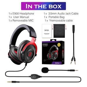 Image 5 - Eksa有線ゲーマーヘッドセット3.5ミリメートル耳のヘッドフォンでノイズキャンセルマイクpc/xbox/PS4 1コントローラ