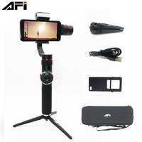 AFI V5 3 Axis Stabilizer Handheld Smartphone Phone Gimbal for iPhone 11 11Plus XR X 8P 8 7P 6S Samsung & Gopro Action Camera