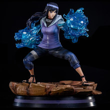 23 Cm Anime Naruto Neji Hinata Action Figure Gk Vervangbare Hand Leeuwenkop Neji Hinata Pvc Collection Model Pop Speelgoed(China)
