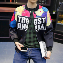 Sublimation Printed Casual Men's Coat Tracksuits Bomber Baseball Jacket