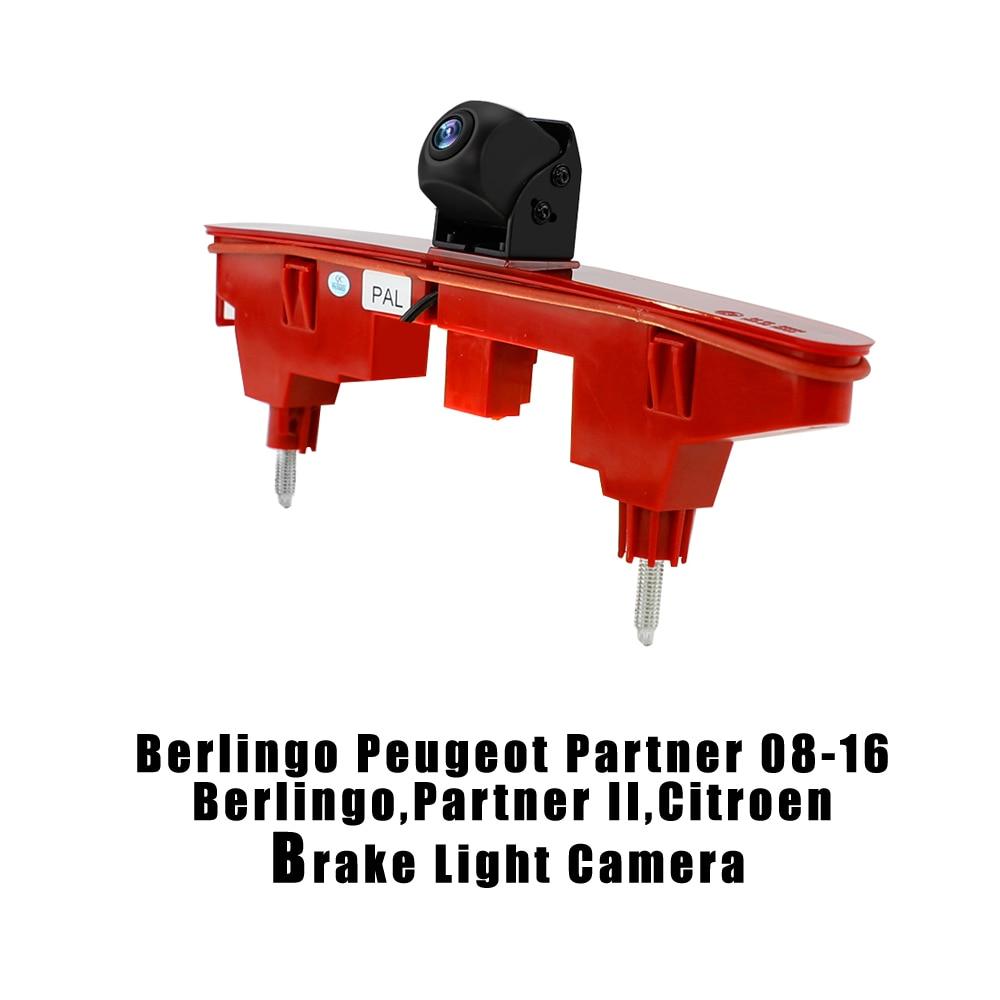 Brake Light Camera for Citroen Berlingo Peugeot Partner BerlingoPartner II 08-16 Brake Light Camera 1 3 PC4089