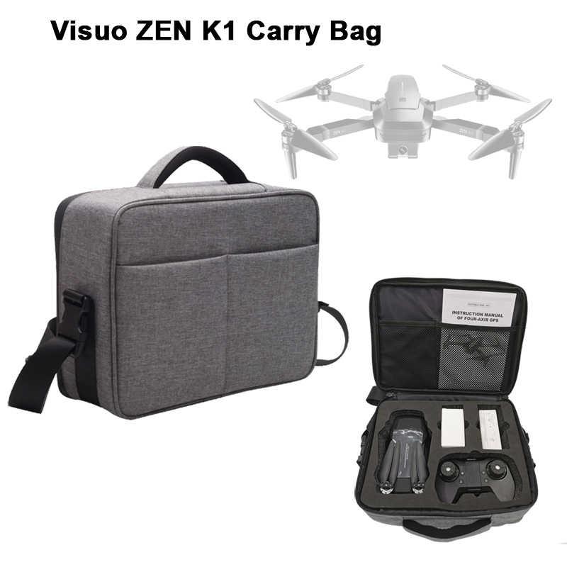 Darmowa wysyłka śmigła box dla VISUO ZEN K1 RC Drone akcesoria GPS bezszczotkowy Quadcopter torba do przechowywania części zamienne do helikoptera