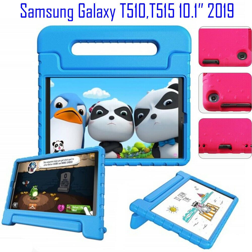 Kids Shockproof EVA Foam Handle Tablet <font><b>Case</b></font> Cover For Samsung Galaxy Tab 10.1