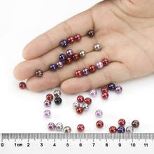 100pcs Czech Glass Pearl Round Bead for Jewelry Making 3mm 4mm 5mm 6mm 8mm 10mm(China)