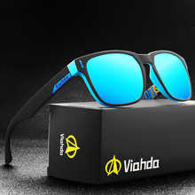 Viahda 2020 New Polarized Sunglasses Cool Men Sport Square Sun Glasses For Women Travel Gafas De Sol