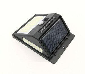 Image 3 - 100 LEDs PIR Motion Sensor Light LED Floodlight Wall Lamps Outdoor Lighting Garden Solar Lamp Security Porch Street Lights