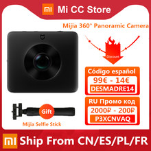 Original Xiaomi Mijia 360 ° Panorama Kamera IP67 3,5 K Video Aufnahme Kugel Kamera Bewertung WiFi Bluetooth Mini Sport Camcorder