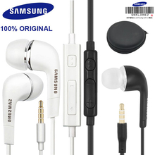 original Samsung Earphones EHS64 Built in Mic 3.5mm In Ear Wired Headsets For Samsung huawei xiaomi Smartphones with free gift