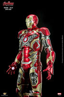 In Stock DFS009 Art 1:9 Diecast Alloy Iron Man Avenger Age of Ultr MK43 Action Figure Model Toy for Fans