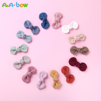2019 New 1pcs Baby Flower Bows headband hairband Hairpin hair Clip Nylon Barrettes Kids Child Girls Colorful Accessories