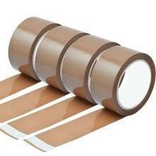 Large bande adhésive colorée pour emballage de boîte carton et colis, bandes étanches de 48mm par 45 mètres, idéal pour expédition