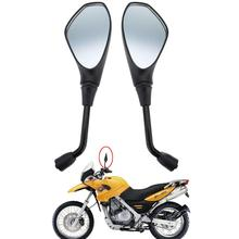 (Ship From Germany)2 pcs universal 10mm motorcycle mirror rearview for BMW F650GS Suzuki