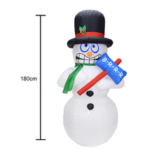 1.8M Height LED Giant Inflatable Snowman With Blower Garden Outdoor Layout Christmas Decor Cute Figure Kids Classic Toys Se24 стоимость