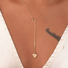 Nowe mody trendy biżuteria miedziane serce łańcuch naszyjnik z ogniwami prezent dla kobiet dziewczyna tanie tanio SUMENG Kobiety Łańcuszki naszyjniki Wąż łańcuch Metal Wszystko kompatybilny Moda Chains Necklaces